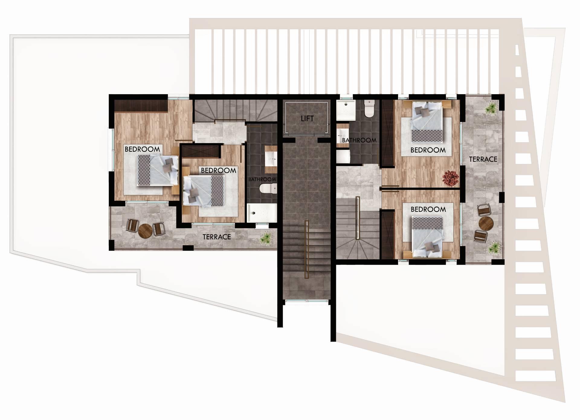 Mezzanine floor plan